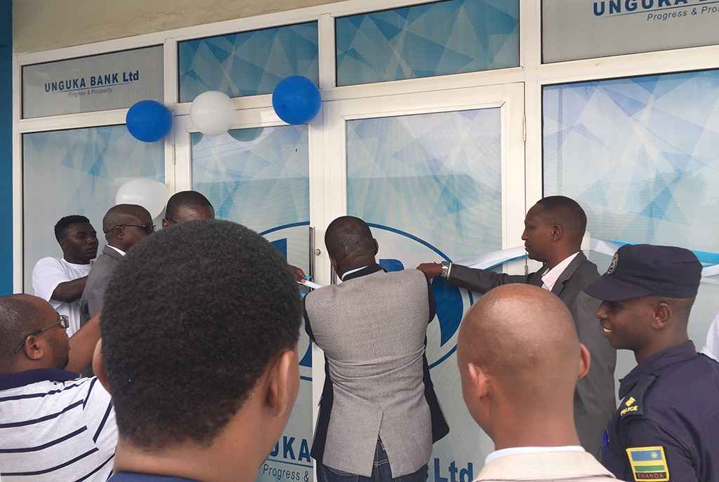 Unguka Bank opens up a new branch in Rusizi, Kamembe Sector