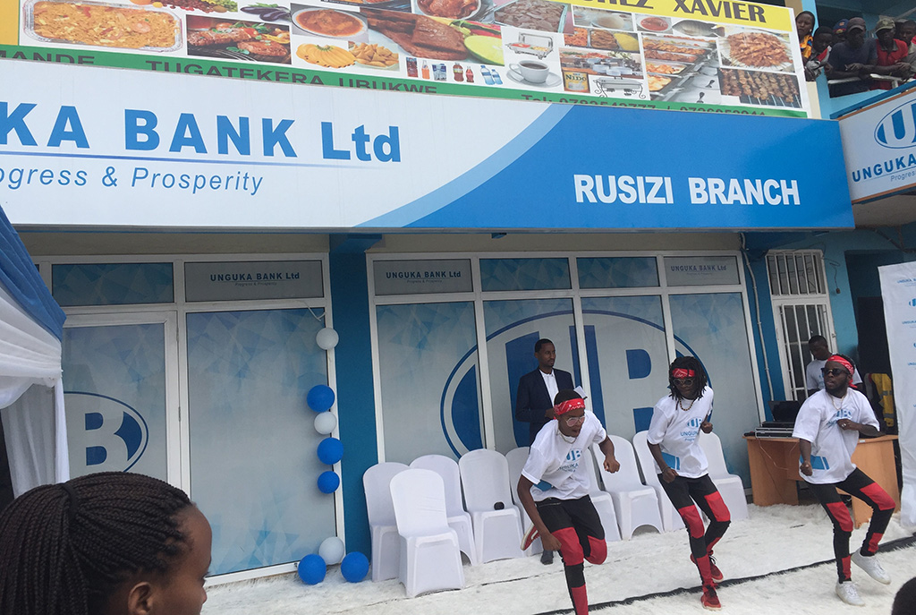 Unguka Bank opens up a new branch in Rusizi